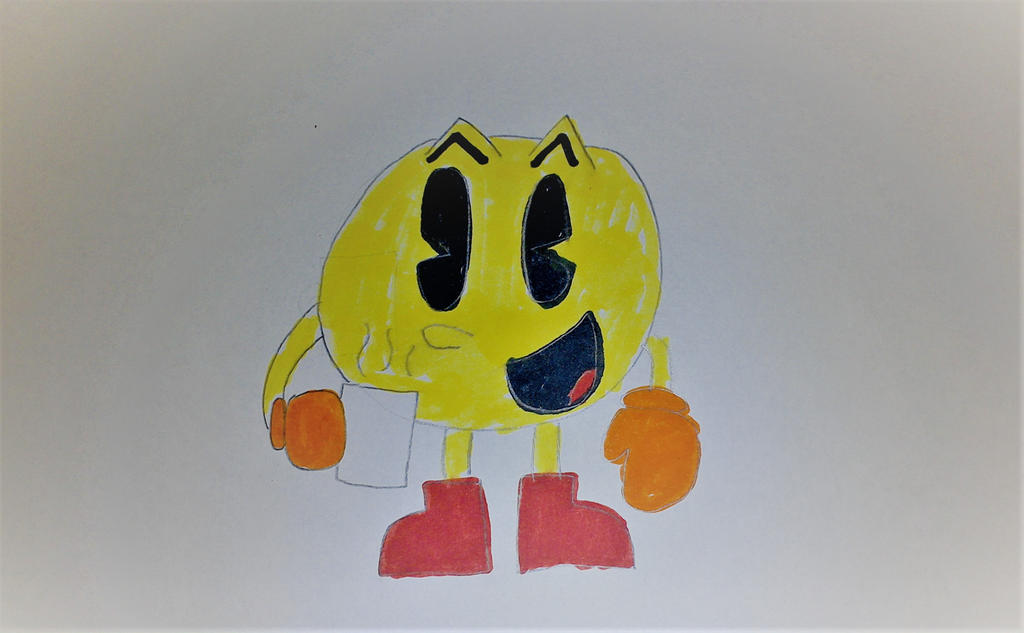 Pac-Man with Hot Chocolate by SuperSmash6453