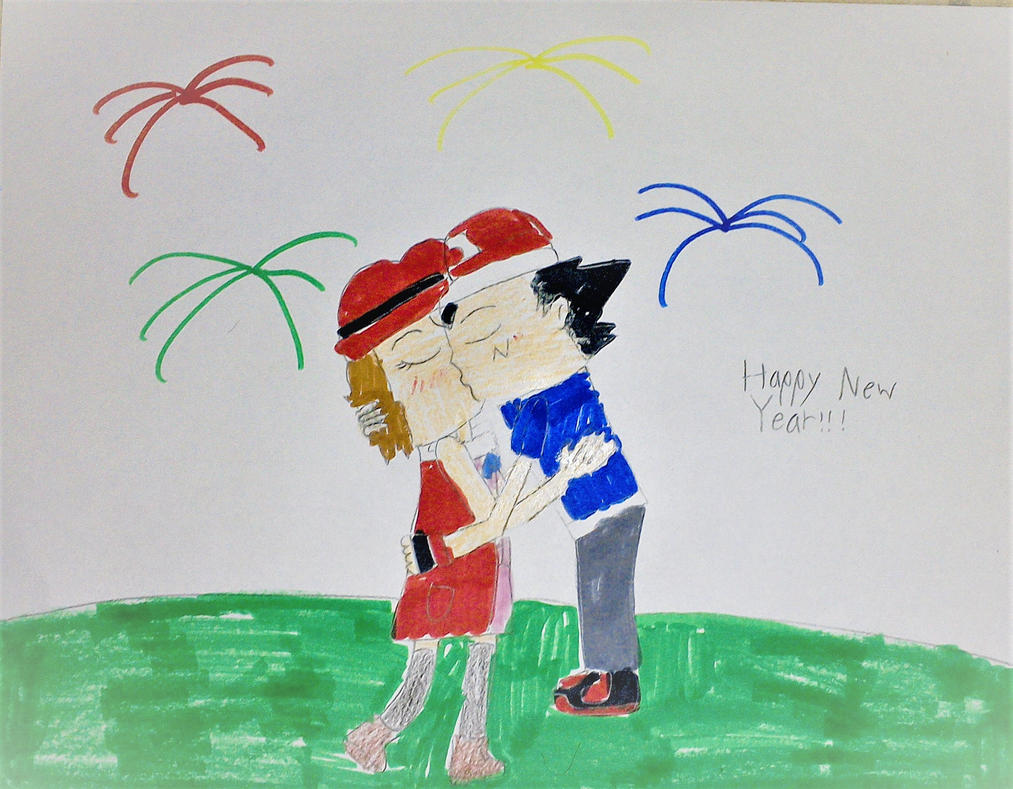 New Year's Kiss by SuperSmash6453