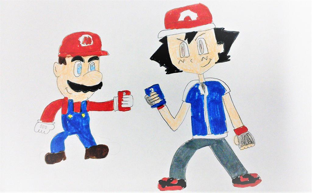 Super Mario Run vs Pokemon Go by SuperSmash6453