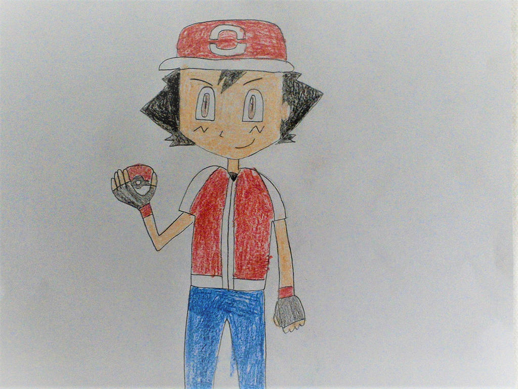 Ash Generation 8 Outfit by SuperSmash6453