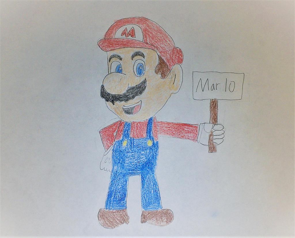 Happy Mario Day! by SuperSmash6453