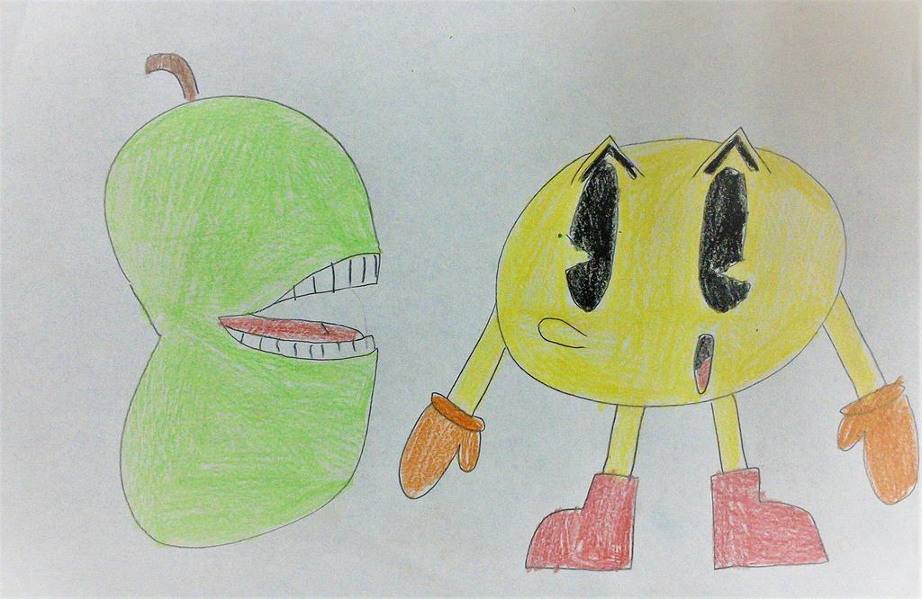 Pac-Man meets Biting Pear of Salamanca by SuperSmash6453