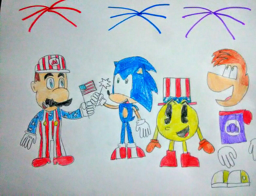 Happy Fourth of July!  by SuperSmash6453