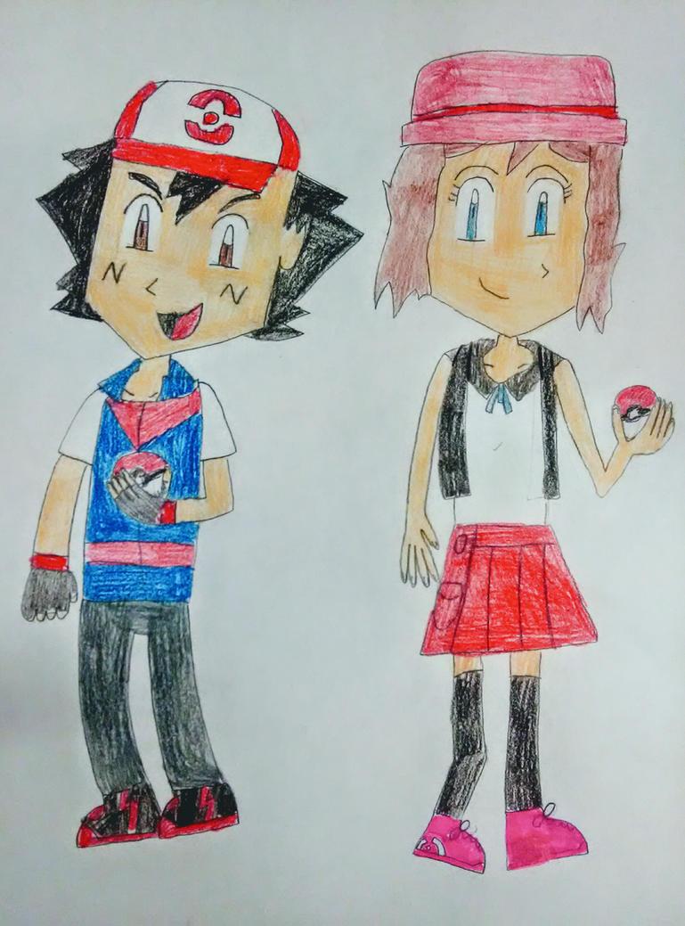 Ash and Serena Gen 8 V2 by SuperSmash6453