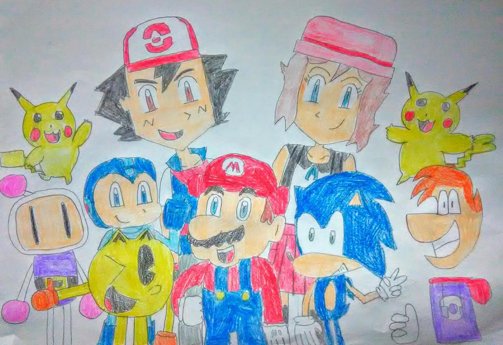 My Heroes by SuperSmash6453