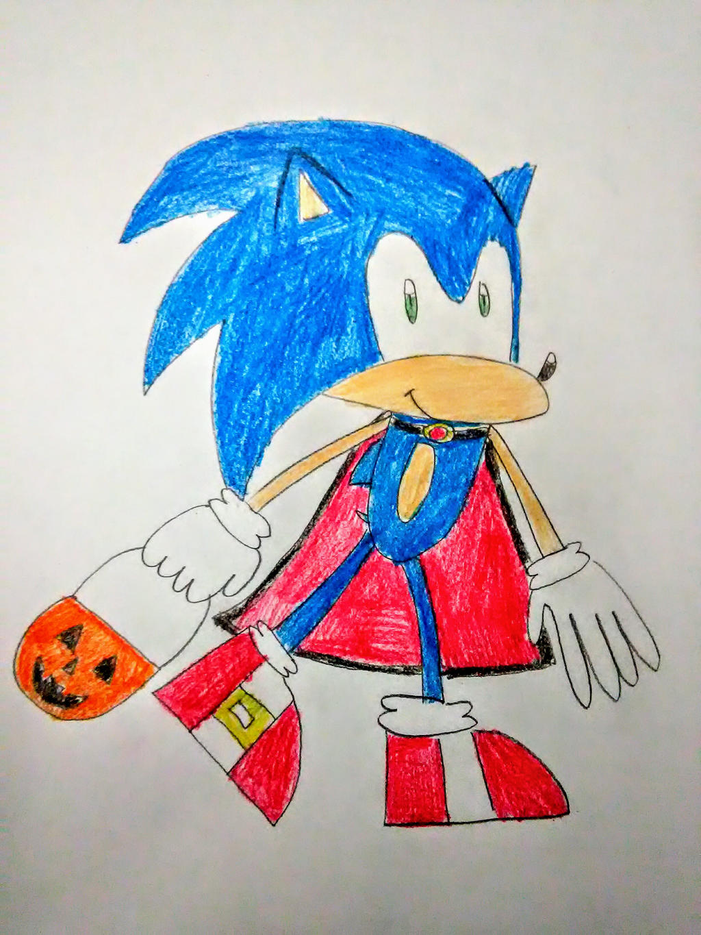 Sonic Halloween by SuperSmash6453