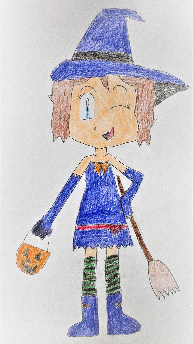 Serena Witch Costume by SuperSmash6453