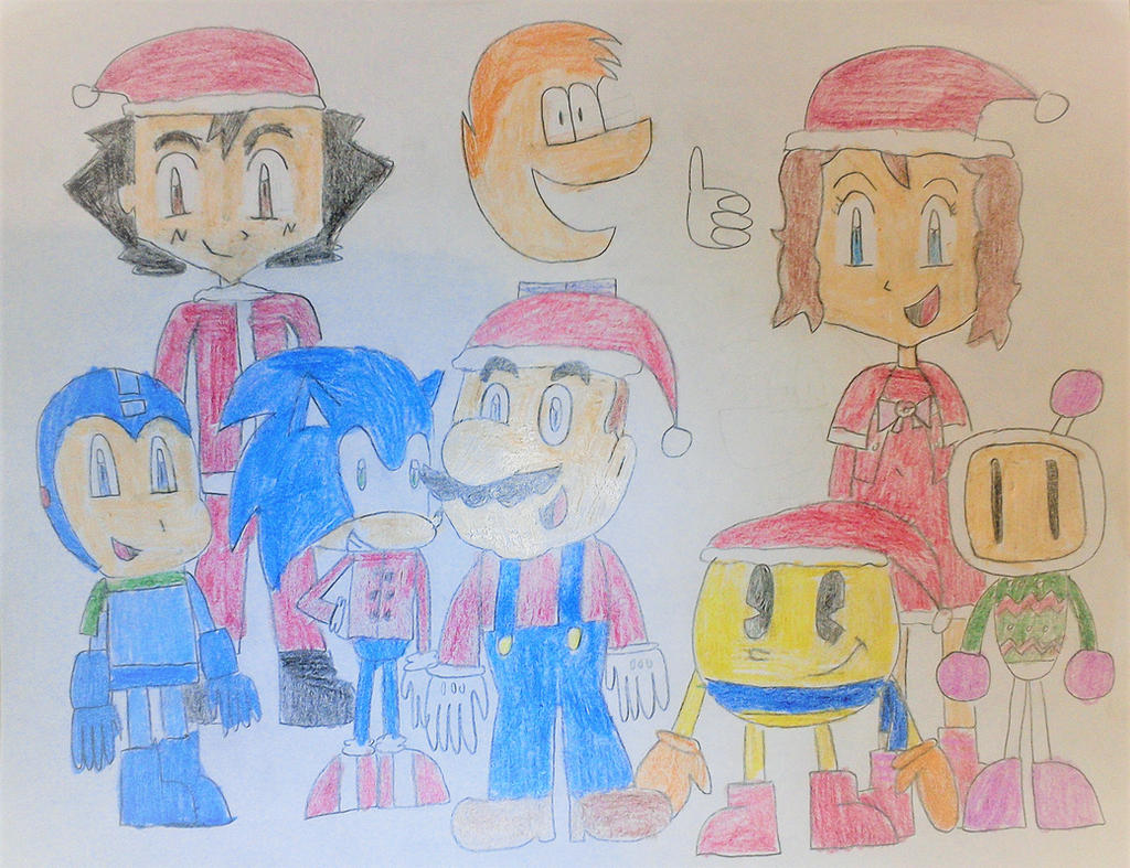 My Heroes (Christmas Edition) by SuperSmash6453
