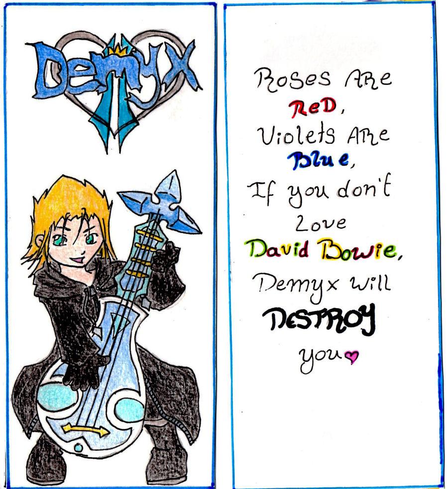 Demyx Bookmark by Baffled-Jailbird