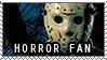 Horror stamp