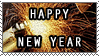 Happy New Year stamp by test-page