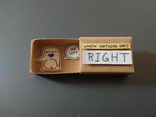 Matchbox Card by NElondra