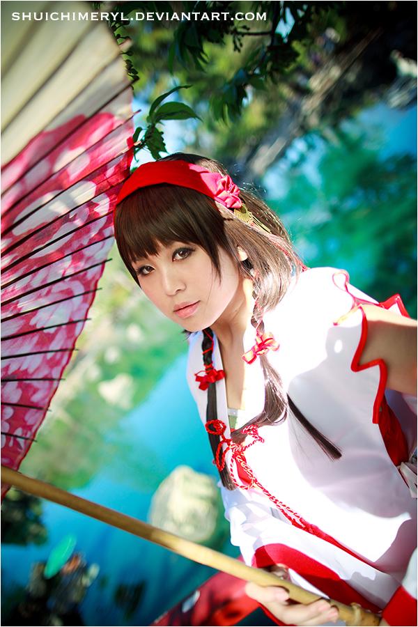 Sengoku Musou 3 - Okuni 01 by shuichimeryl