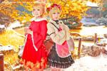 Touhou project Aki sister 03