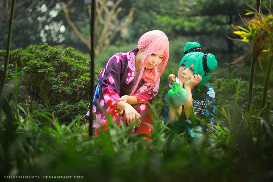 VOCALOID PROJECT DIVAF 02 by shuichimeryl