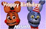 Happy Birthday, Mishti!