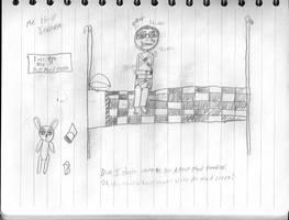 Sketch Page: Insane Me by Porter-Bailey