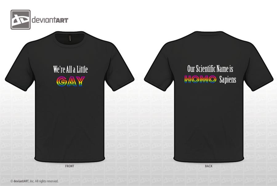 Anti-Homophobia T-Shirt by Porter-Bailey