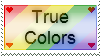 True Colors Stamp by Porter-Bailey