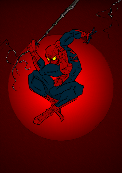 Here Comes The Spider-Man ! by Canjoke