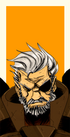 Solidus Snake - The Second Boss by Canjoke