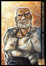 Sketchcard - Captain Rex by Canjoke