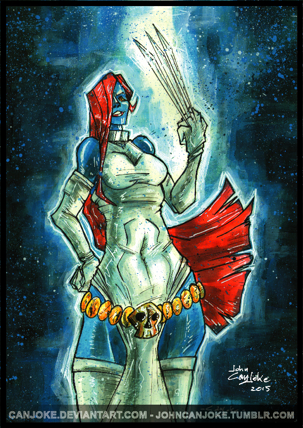 Mystique - Armed And Dangerous by Canjoke