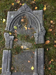 Shattered Headstone by thatguyfromabove