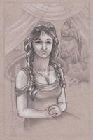 Arwen Evenstar by Lamorien