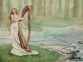 Galadriel's Farewell by Lamorien