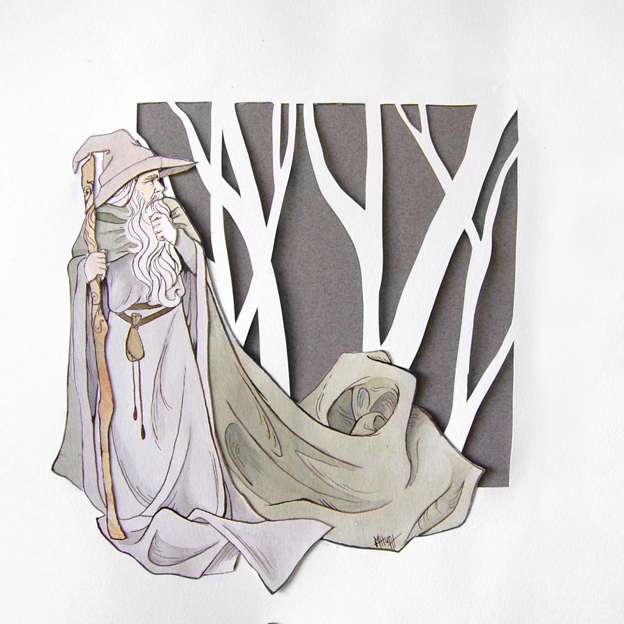 The Gray Pilgrim by Lamorien