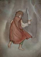 Bilbo by Lamorien