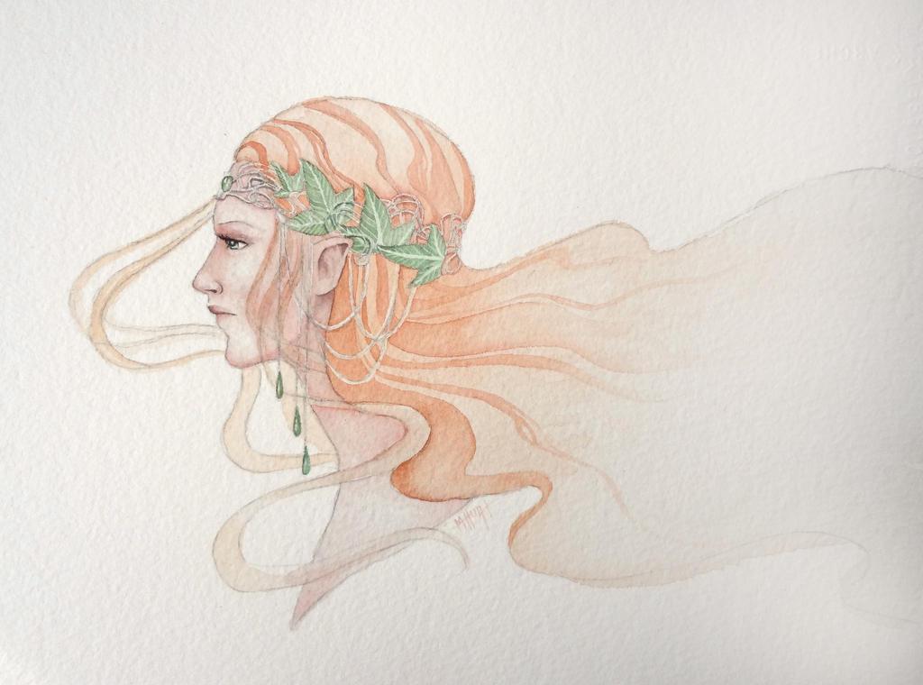 Lady of Lorien by Lamorien