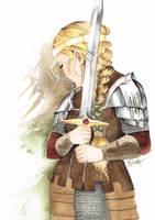 Eowyn by Lamorien