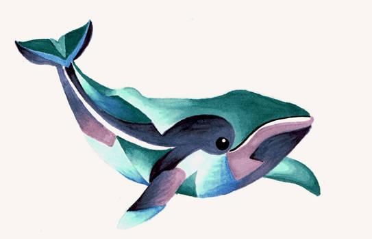 Whale Totem Tattoo