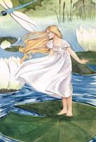 Thumbelina by Lamorien