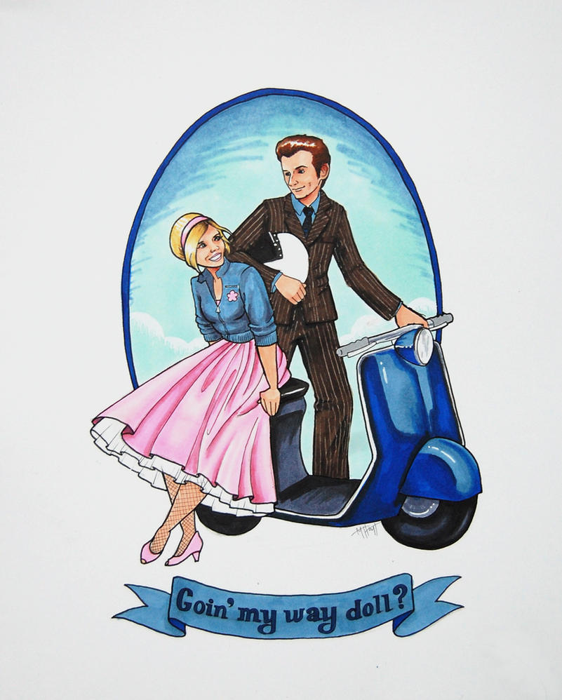 Goin' My Way Doll? by Lamorien