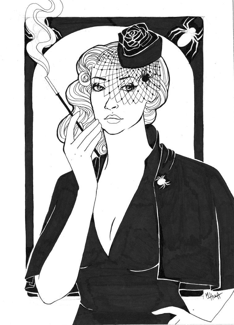 Black Widow by Lamorien