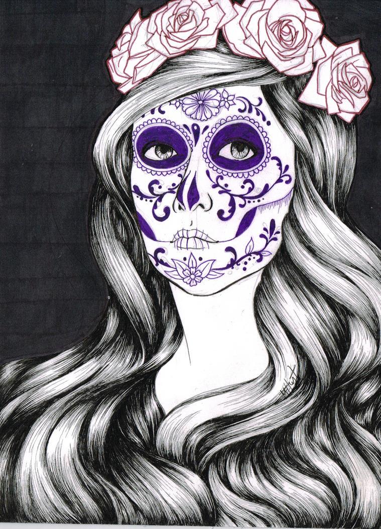 Sugar Skull by Lamorien