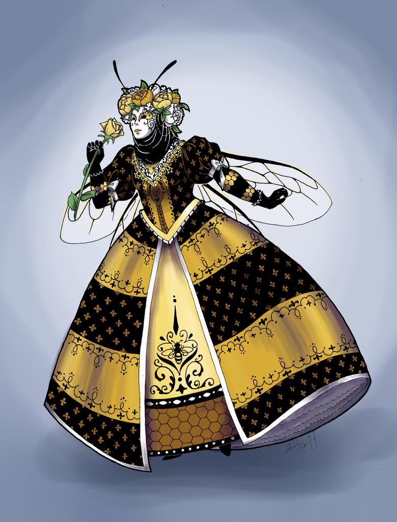 Queen Bee of Venice by Lamorien