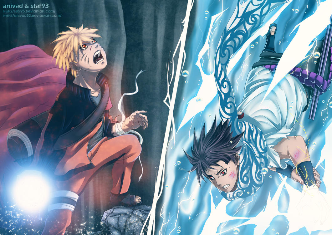 Naruto vs sasuke by anivad32 on deviantart - Naruto as sasuke ...