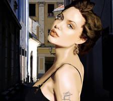 Angelina Jolie by kazu3106