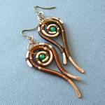 Aganippe earrings