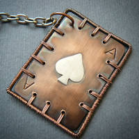 ace of spades by szaranagayama