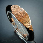 Ethereal: 05 feather bracelet