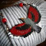 wallcreeper necklace