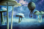 Exploring Planet Mushroom by hankep