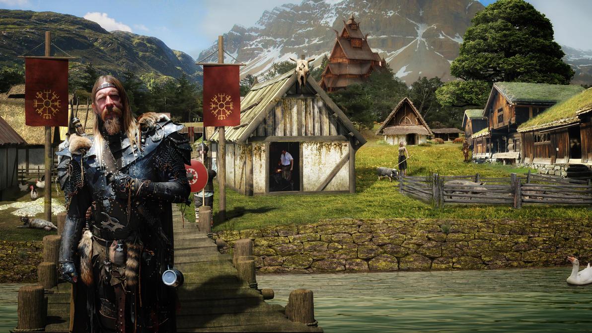 Viking Village by hankep