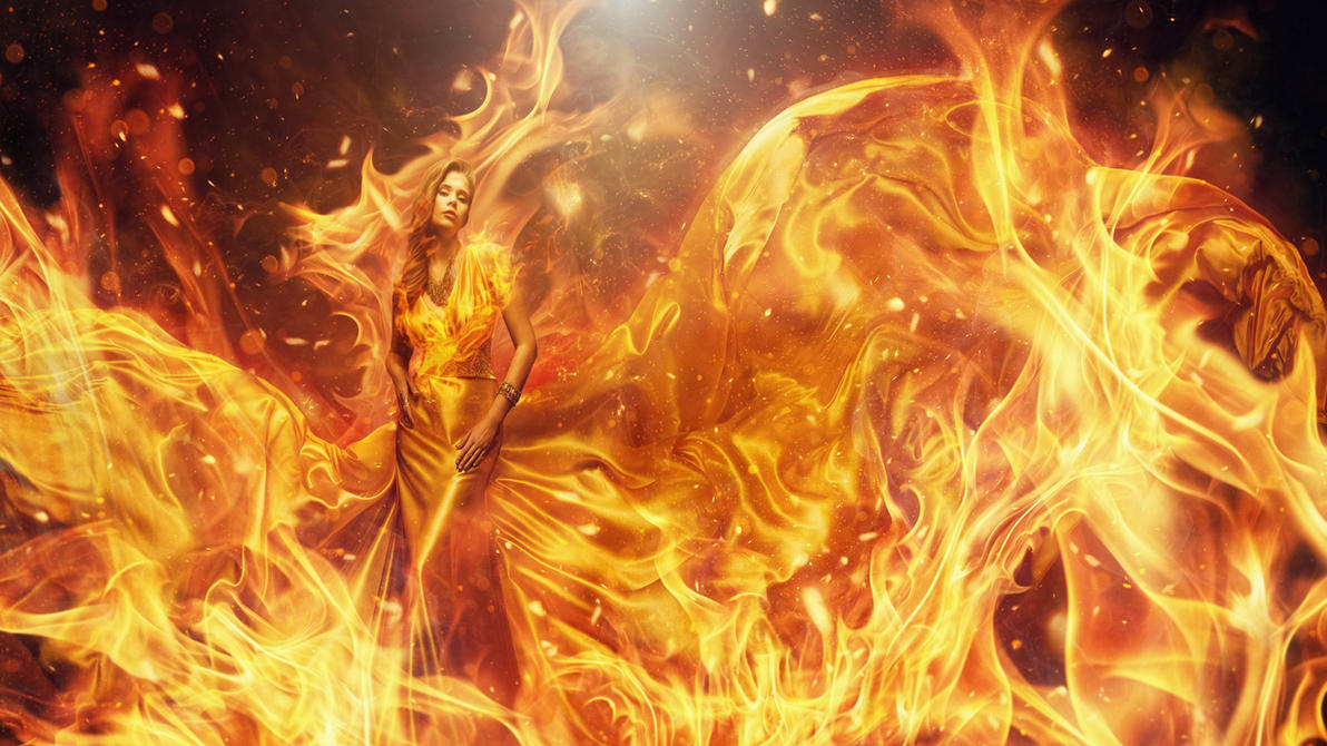 Fire Queen by hankep