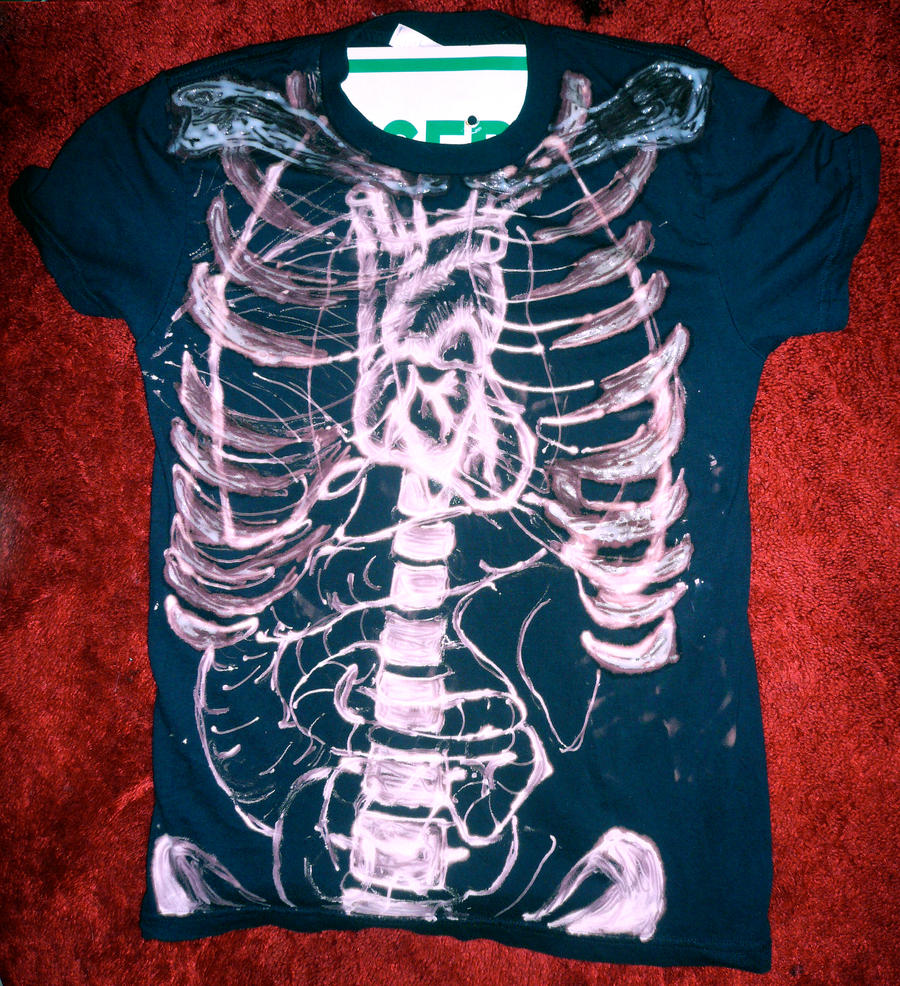 Bleach tshirt by asher27 on deviantart for How to bleach designs into shirts
